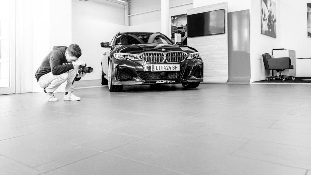 Making of Fahrzeugfotografie