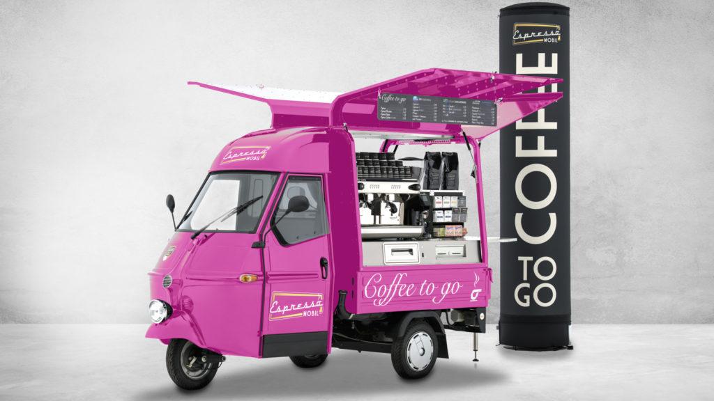 Fahrzeugfotografie Espressomobil